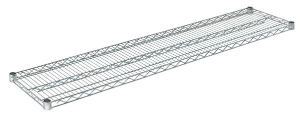 """Olympic J1460C Wire Shelf, Chromate, 14"""" x 60"""""""