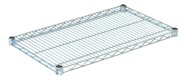 """Olympic J1830C Wire Shelf, Chromate, 18"""" x 30"""""""