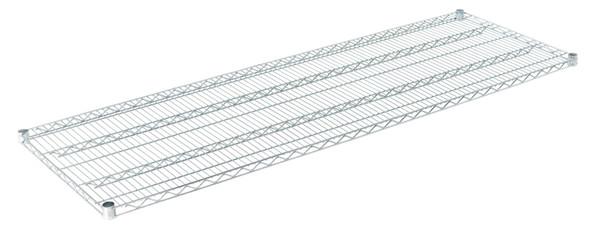 """Olympic J2472C Wire Shelf, Chromate, 24"""" x 72"""""""
