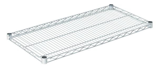 """Olympic J1836C Wire Shelf, Chromate, 18"""" x 36"""""""