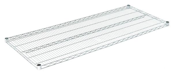"""Olympic J2460C Wire Shelf, Chromate, 24"""" x 60"""""""