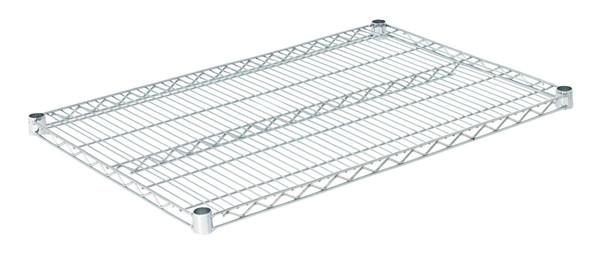 """Olympic J2436C Wire Shelf, Chromate, 24"""" x 36"""""""