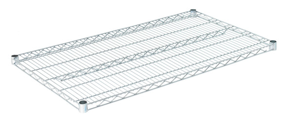 "Olympic J2442C Wire Shelf, Chromate, 24"" x 42"""