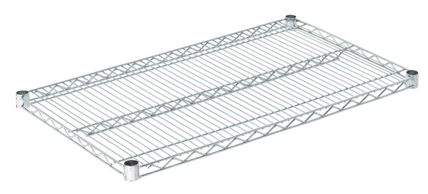 "Olympic J2136C Wire Shelf, Chromate, 21"" x 36"""