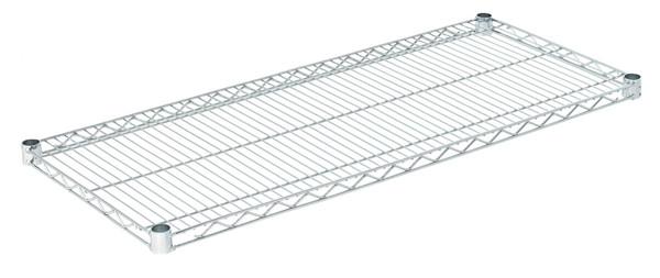 """Olympic J1842C Wire Shelf, Chromate, 18"""" x 42"""""""