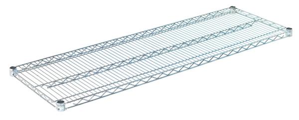 """Olympic J1854C Wire Shelf, Chromate, 18"""" x 54"""""""