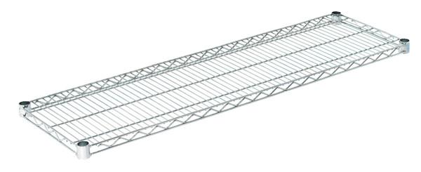 """Olympic J1448C Wire Shelf, Chromate, 14"""" x 48"""""""