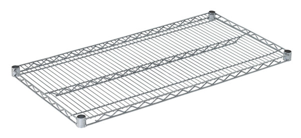 "Olympic J2142C Wire Shelf, Chromate, 21"" x 42"""