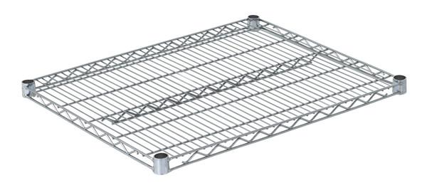 """Olympic J2430C Wire Shelf, Chromate, 24"""" x 30"""""""