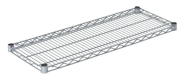 """Olympic J1436C Wire Shelf, Chromate, 14"""" x 36"""""""