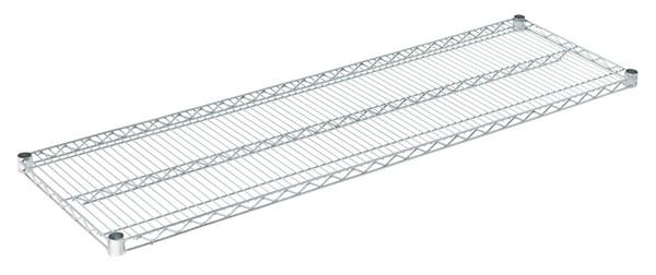 """Olympic J1860C Wire Shelf, Chromate, 18"""" x 60"""""""