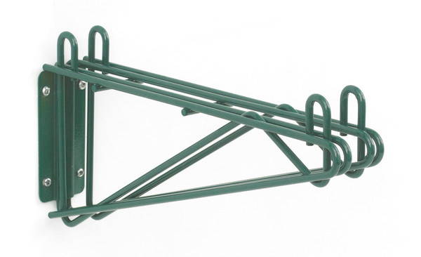 """Olympic J2WD14K Direct Wall Mount, Double Support, Green Epoxy, 14"""""""