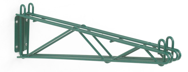 Olympic J2WD24K Direct Wall Mount, Double Support, Green Epoxy, 24""