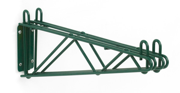 """Olympic J2WD18K Direct Wall Mount, Double Support, Green Epoxy, 18"""""""
