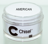 CHISEL 2IN1 ACRYLIC & DIPPING 2OZ - PINK & WHITE -AMERICAN