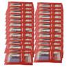 Red Nail Pedicure Pumice Kit  - 25 pcs