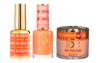 DND DC 3IN1 MATCHING(GEL+LACQUER+DIP) - #DC010- Dutch Orange
