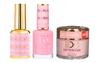 DND DC 3IN1 MATCHING(GEL+LACQUER+DIP) - #DC017- Pink Bubblegum
