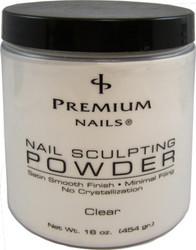Premium Nail Sculpting Powder CLEAR 16 oz (454 gr.)