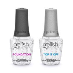 Harmony Gelish Foundation Base + Top Sealer  2/Pack