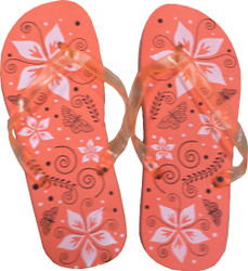 Pedicure Slipper Sandal - 1 Pair (Orange)