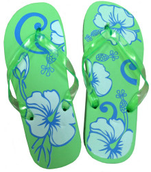 Pedicure Slipper Sandal - 1 Pair (Green)