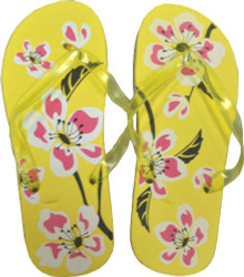 Pedicure Slipper Sandal - 1 Pair (Yellow)
