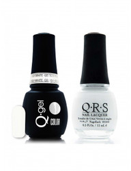 #100 - QRS Gel Duo - French White