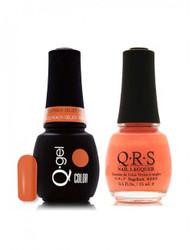 #207 - QRS Gel Duo - Cream Violet