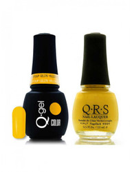 #278 - QRS Gel Duo - Yellow Tulip