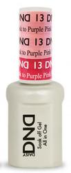 #13 - DND Mood Gel - Pretty Pink To Purple Pink 0.5 oz