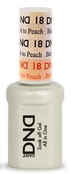 #18 - DND Mood Gel - Baby Pink To Peach 0.5 oz