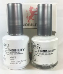 Lechat Nobility Gel and Polish Duo #001 - White (0.5 fl oz)