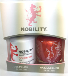 Lechat Nobility Gel and Polish Duo - Golden Sun (0.5 fl oz)