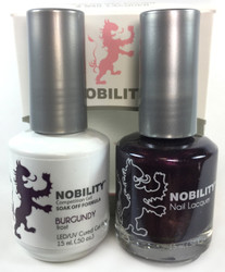 Lechat Nobility Gel and Polish Duo - Burgundy (0.5 fl oz)