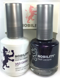 Lechat Nobility Gel and Polish Duo - Wild Grapes (0.5 fl oz)