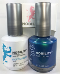 Lechat Nobility Gel and Polish Duo - Northern Sky (0.5 fl oz)