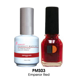 Perfect Match - PMS03 Emperor Red .5oz