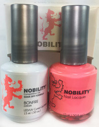 Lechat Nobility Gel and Polish Duo - Bonfire (0.5 fl oz)