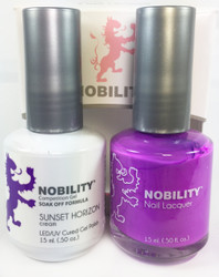 Lechat Nobility Gel and Polish Duo - Sunset Horizon (0.5 fl oz)