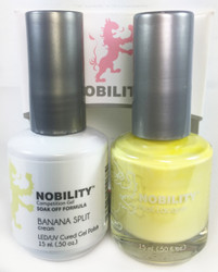 Lechat Nobility Gel and Polish Duo - Banana Split (0.5 fl oz)