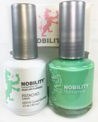 Lechat Nobility Gel and Polish Duo - Pistachio (0.5 fl oz)