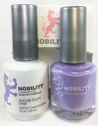 Lechat Nobility Gel and Polish Duo - Sugar Plums (0.5 fl oz)