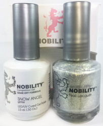 Lechat Nobility Gel and Polish Duo - Snow Angel (0.5 fl oz)
