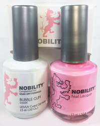 Lechat Nobility Gel and Polish Duo - Bubble Gum (0.5 fl oz)