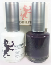 Lechat Nobility Gel and Polish Duo - Raven (0.5 fl oz)
