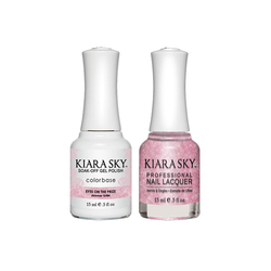 Kiara Sky Gel + Lacquer - #G584- Eyes On The Prize