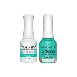 Kiara Sky Gel + Lacquer - #G588- Shake Your Palm Palm