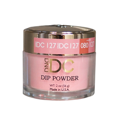 DND DC Dip Powder - #DC127- Deep Chestnut