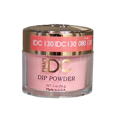 DND DC Dip Powder - #DC130- Pink Grapefruit